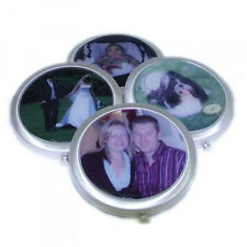 Ladies Handbag Mirror with YOUR Photo. Great Christmas Gift for Mums/Aunties/GF