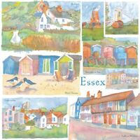 Essex Watercolour Greetings Card - Emma Ball, birthday, blank inside