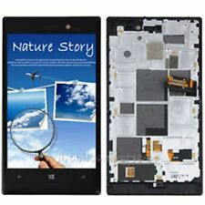 """LCD Touch Digitizer Full Assembly + Frame For Nokia Lumia 928  """" OEM PART"""" New"""