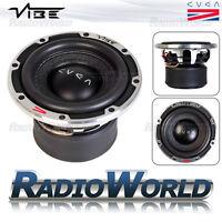 """Vibe CVEN 6 6.5"""" Sub Subwoofer Bass Car Audio 300W 2Ohm Dual Voice Coil Bass SQL"""