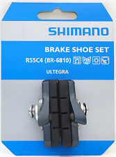 Shimano R55C4 BR-6810 Cartridge Brake Shoes Pads Set fits Ultegra 105, Pair