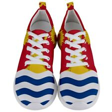 New Kiribati flag Men's Athletic Sports Running Shoes Free Shipping
