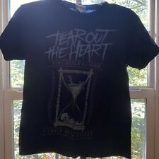 New listing Tear Out The Heart Skeleton Hourglass Time Heals Nothing Boys Band Shirt