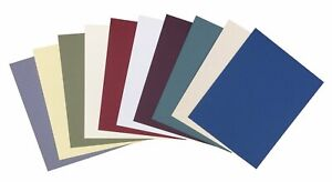 Pack of 25 UNCUT Matboards - Variety Pack - Assorted Colors - 4 Ply Acid Free