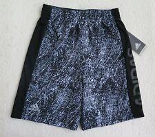 ADIDAS Little Boys' Motivation White/Black Shorts - Size 5 - NWT - MSRP$26.00