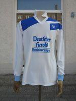 PUMA Trikot Hemd ASV Forth Deutscher Herold No 6 TRUE VINTAGE 90s Versicherungen