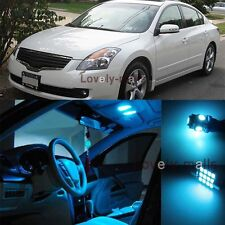 Ice Blue Light Bulb SMD Interior LED Package Kit For  Nissan Altima 2002-2006