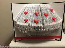 Happy Anniversary Book Folding PATTERN 428 folds  #456