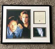 The X-files Limited Edition Framed Picture Rare Number 3037 Mulder Scully 1995