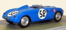 Véhicules miniatures bleus moulé sous pression pour Panhard