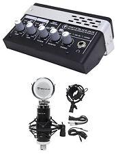 Mackie ONYX BLACKJACK Blackbird Premium 2 x 2 USB Recording Interface+Studio Mic