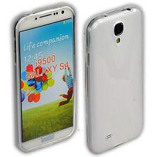 Coque arrière pour samsung Galaxy s4 sac Housse de protection case i9500 transparent + film
