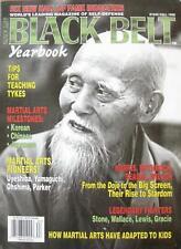 1996 BLACK BELT YB MORIHEI UYESHIBA CAT YAMAGUCHI ED PARKER KARATE  MARTIAL ARTS