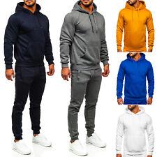 Jogginganzug Trainingsanzug Sporthose Sweatshirt Basic Men Herren BOLF Unifarben