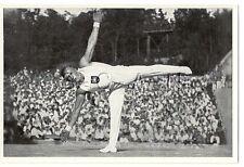 WWII GERMAN- Large 36 OLYMPIC Sports Photo Image- Gymnastics- Alfred Schwarzmann