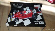 Formel 1 1:43 Ferrari 312T Niki Lauda Worldchampion  Minichamps Ovp 1975