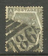 QV - 6d Grey (Plate 12) SG 125 (CV £300)