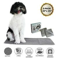 NEW Puppy Pads Washable Pee Pads for Dogs-Reusable Puppy Training Pads-Dog Crate