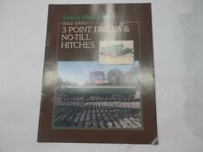 Great Plains Solid Stand 3 Point Drills Amp No Till Hitches Sales Brochure