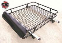 Lockable Aluminium 120cm Roof Rail Bars & Car Rack Tray for Skoda Octavia Estate