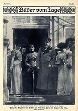 Kronprinz Alexander von Serbien als Gast des Zaren der Bulgaren in Sofia v.1910