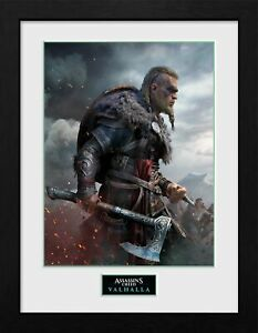 ASSASSINS CREED VALHALLA ULTIMATE PICTURE FRAME 16x12 INCH - OFFICIAL GIFTS,XMAS