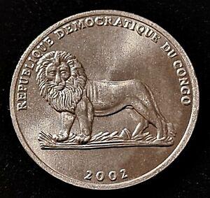 2002 Congo 25 Centimes Nice Coin