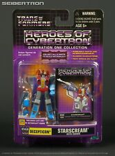 Heroes of Cybertron STARSCREAM + CROWN Transformers HOC SCF + Metroplex leg