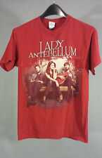Lady Antebellum Own the Night 2011 Concert Tour Red T-Shirt Size S / Small Shirt