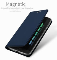 DD For Motorola Moto G6 Plus PU Leather Flip Case Wallet Smart Magnetic Cover