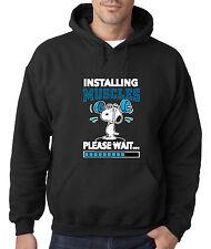 New Way 433 - Hoodie Installing Muscles Please Wait Snoopy Peanuts