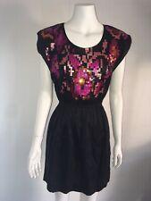 gorman silk  sequined  dress size XS