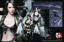 Mr.Toys 1/6 Scale Sexy Sniper Figure Head x 2 Set+Costume Metal Gear Solid Quiet