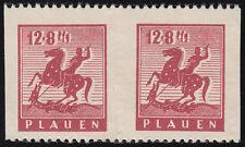 Lokalausgabe Plauen Mi.Nr. 5 Us postfrisch Paar Mi.Wert 120€ (7314)