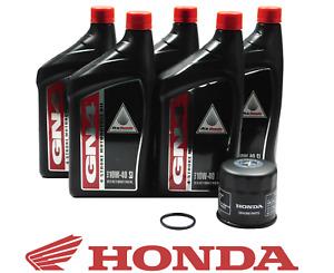 2002-2005 Honda AquaTrax F12 X R12 X ARX1200 OEM Oil Change Kit H57