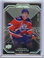 Connor McDavid 2016-17 UD Black Base Card Edmonton Oilers #12 196/299