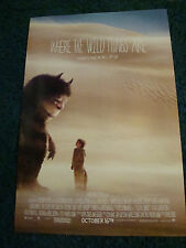 WHERE THE WILD THINGS ARE - MOVIE POSTER (40 x 27) - EXCELLENT CONDITION