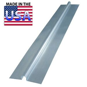 "(100) 4 ft Snap On Aluminum Heat Transfer Plates for 1/2"" PEX Omega +"