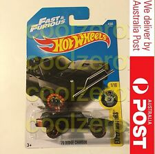 Hot Wheels Fast Furious 70 Dodge Charger Die cast - Aus Seller