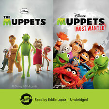 The Muppets & Muppets Most Wanted by Annie Auerbach; Katharine Turner 2017 Unabr