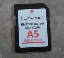A5  MAP UPDATE Ford Lincoln Escape Edge Explorer F150 Navigation SD CARD sync