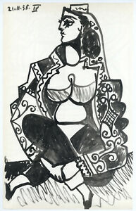 Pablo Picasso lithograph, printed by Mourlot RARE 758891