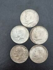 More details for 5 off usa 1964 kennedy silver half dollar