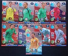 ALL 9 Goal Stopper cards - Panini Adrenalyn XL Road to Euro 2016 France