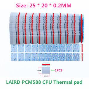 10PCS-NEW Original Laird PCM588 CPU Thermal Pad CPU PAD Size:25*20*0.2MM