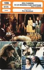 FICHE CINEMA : MOLL FLANDERS - Wright,Freeman 1996 Les Mémoires d'une Courtisane