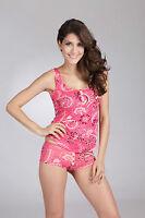 E et D YL0041 Comfort Cotton singlet set top size 8/10/12/14/16 XS/S/M/L/XL