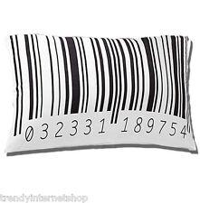 Kissen Kissenbezug rasch Home Vision 189754  weiß schwarz Barcode EAN 40 x 60 cm
