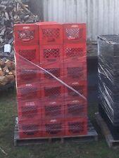 2. PLASTIC DAIRY BEVERAGE MILK Bottle CRATES Box Storage 11