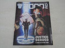 2000 AD Comic - PROG 2225 - Date 31/03/2021 - UK Paper Comic